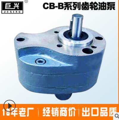 泊头产地直销 CB-B6低压齿轮泵润滑泵液压输油泵 cb-b6齿轮泵