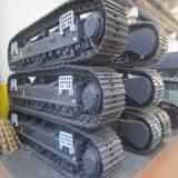 底盘行走装置 推土机钢制履带底盘 履带底盘改装 挖掘机配件厂家