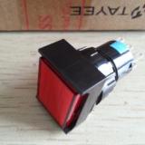 TAYEE上海天逸按钮φ16长方型红LA42(B)PJ-22/R